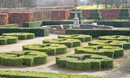 Formaler Tudor Garden stockfotografie
