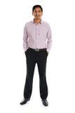 Formalny indyjski biznesowy mężczyzna Fotografia Stock