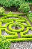 Formalny ogród i Mały labirynt obrazy royalty free