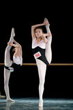 Formação básica da dança Fotografia de Stock