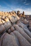 Formação de rocha do parque nacional de árvore de Joshua Foto de Stock Royalty Free