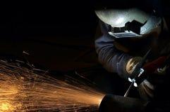 Formar arcos na noite Fotografia de Stock Royalty Free
