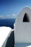 Formas 2 de Santorini Fotografia de Stock