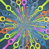 formas 3D Fotografia de Stock