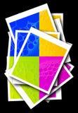 Formas abstractas coloridas Imagen de archivo