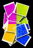 Formas abstractas coloridas Fotos de archivo libres de regalías