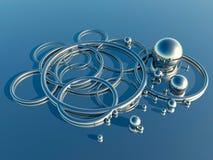 Formas abstractas del metal