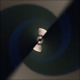 Formas abstratas torcidas Foto de Stock