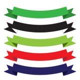 Formas aisladas cinta Foto de archivo libre de regalías