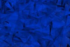 Formas azuladas na névoa Foto de Stock Royalty Free