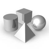 Formas básicas Fotografia de Stock