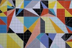 Formas coloreadas del mosaico Imagen de archivo libre de regalías