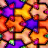 Formas coloridas abstractas Fotos de archivo libres de regalías