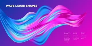 formas coloridas líquidas del extracto 3d libre illustration