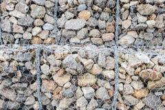 Formas concretas usadas como defensa de la pared de mar de la acción de la onda Imagen de archivo libre de regalías
