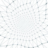 Formas conectadas ilustração stock