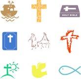 Formas cristãs ilustração royalty free
