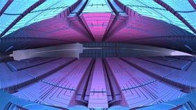 formas 3d geométricas abstratas Foto de Stock Royalty Free
