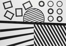 Formas da abstração Imagens de Stock Royalty Free