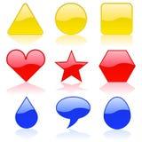 Formas da cor Imagem de Stock Royalty Free