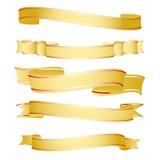 Formas da fita Imagem de Stock