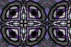 Formas de abstracción que combinan el fondo de los diseños Imagen de archivo libre de regalías