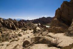 Formas de Geologial, erosão de vento Imagens de Stock Royalty Free
