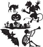 Formas de Halloween Imagem de Stock Royalty Free