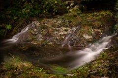 Formas de la corriente del río fotos de archivo libres de regalías