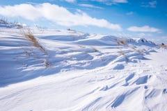 Formas de la nieve Fotografía de archivo libre de regalías