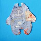 Formas de las telas de Scrapbooking Imagen de archivo