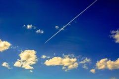 Formas de nubes en el cielo Fotos de archivo libres de regalías