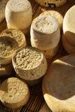 Formas de queso Fotografía de archivo libre de regalías