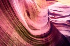 Formas del barranco del antílope, los E.E.U.U. de la piedra arenisca Imagen de archivo libre de regalías