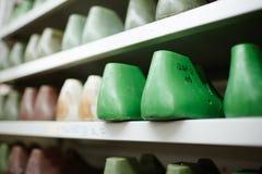 Formas del calzado Imagen de archivo