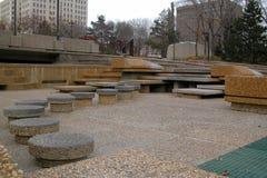 Formas del cemento Foto de archivo libre de regalías