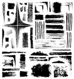 Formas del Grunge Imagen de archivo