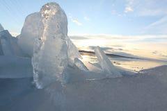 Formas del hielo foto de archivo libre de regalías