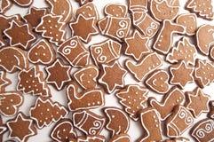 Formas diferentes de bolinhos do pão-de-espécie imagens de stock