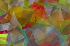 Formas do Colorist na névoa Fotografia de Stock