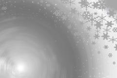 Formas do fundo da neve Foto de Stock Royalty Free