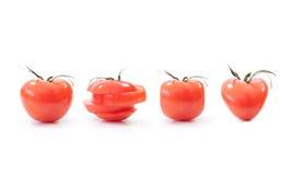 Formas dos tomates Fotografia de Stock Royalty Free
