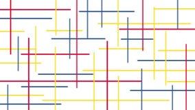 Formas e fundo coloridos Imagens de Stock