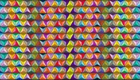 Formas e fundo coloridos Foto de Stock Royalty Free