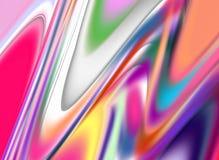 Formas en colores pastel brillantes púrpuras rosadas violetas, tonalidades, formas en fondo abstracto vivo Foto de archivo libre de regalías