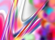 Formas en colores pastel brillantes púrpuras violetas, tonalidades, formas en fondo abstracto vivo Fotos de archivo libres de regalías