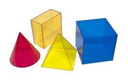 Formas geométricas Imagens de Stock