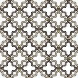 Formas geométricas bege e marrons em um fundo branco Fotografia de Stock