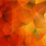 Formas geométricas do outono abstrato EPS10 positivo Fotografia de Stock Royalty Free