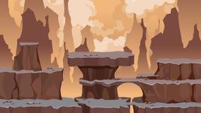 Formas multi-con gradas del fondo de la historieta de piedra libre illustration